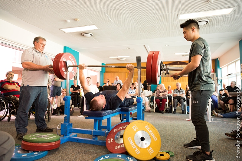 Para powerlifting event
