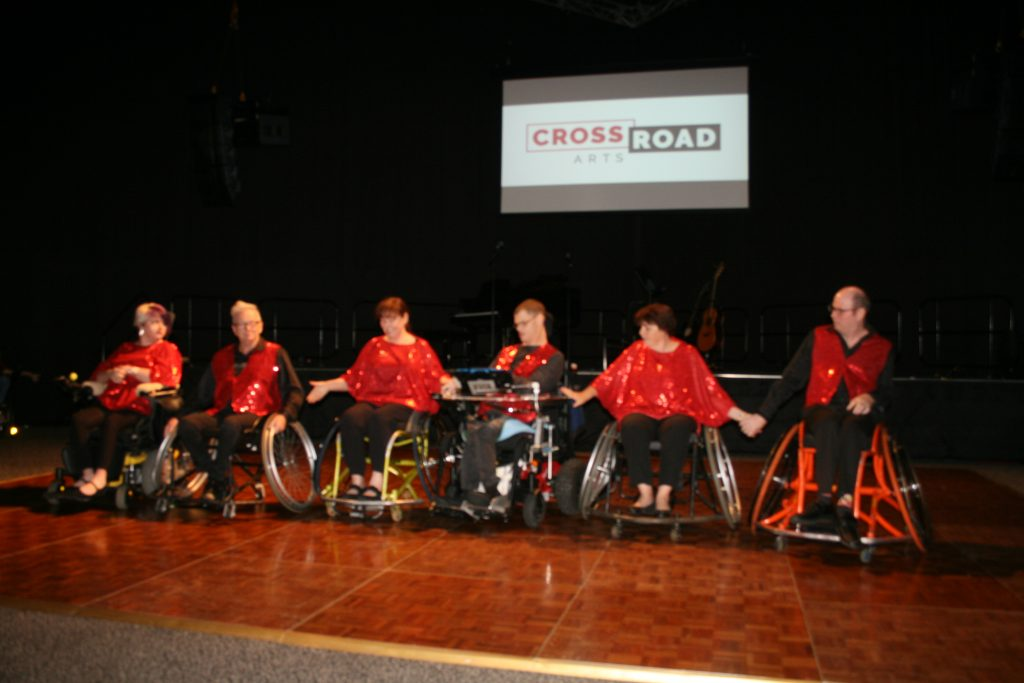 Strictly Wheelchair performing at the Loose Ends concert November 2018