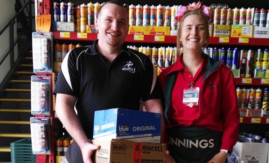Bunnings supplies donation