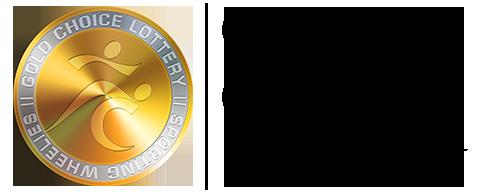 Gold choice lottery logo