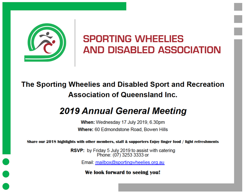 Notice of Annual General Meeting 2019