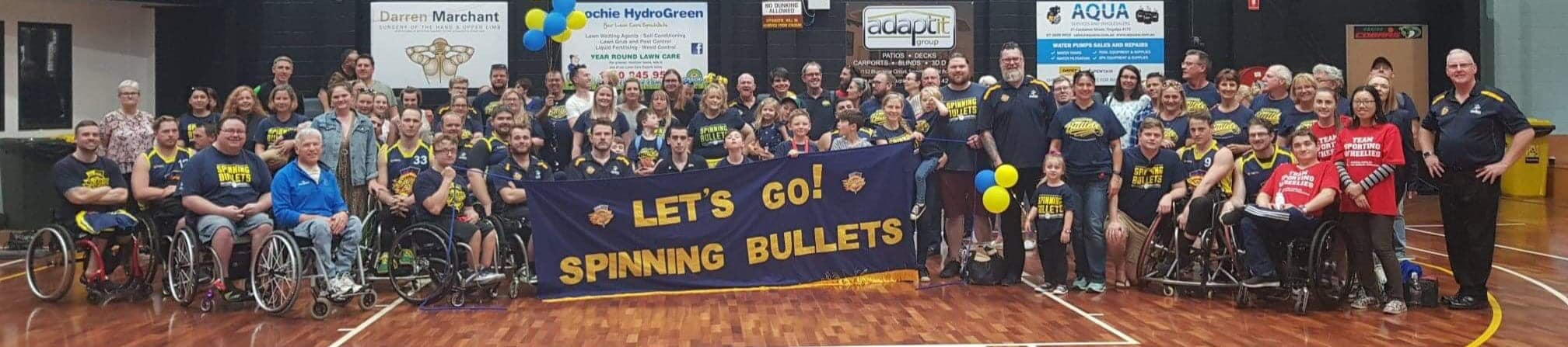 The Queensland Spinning Bullets – NWBL Silver Medalists for 2019