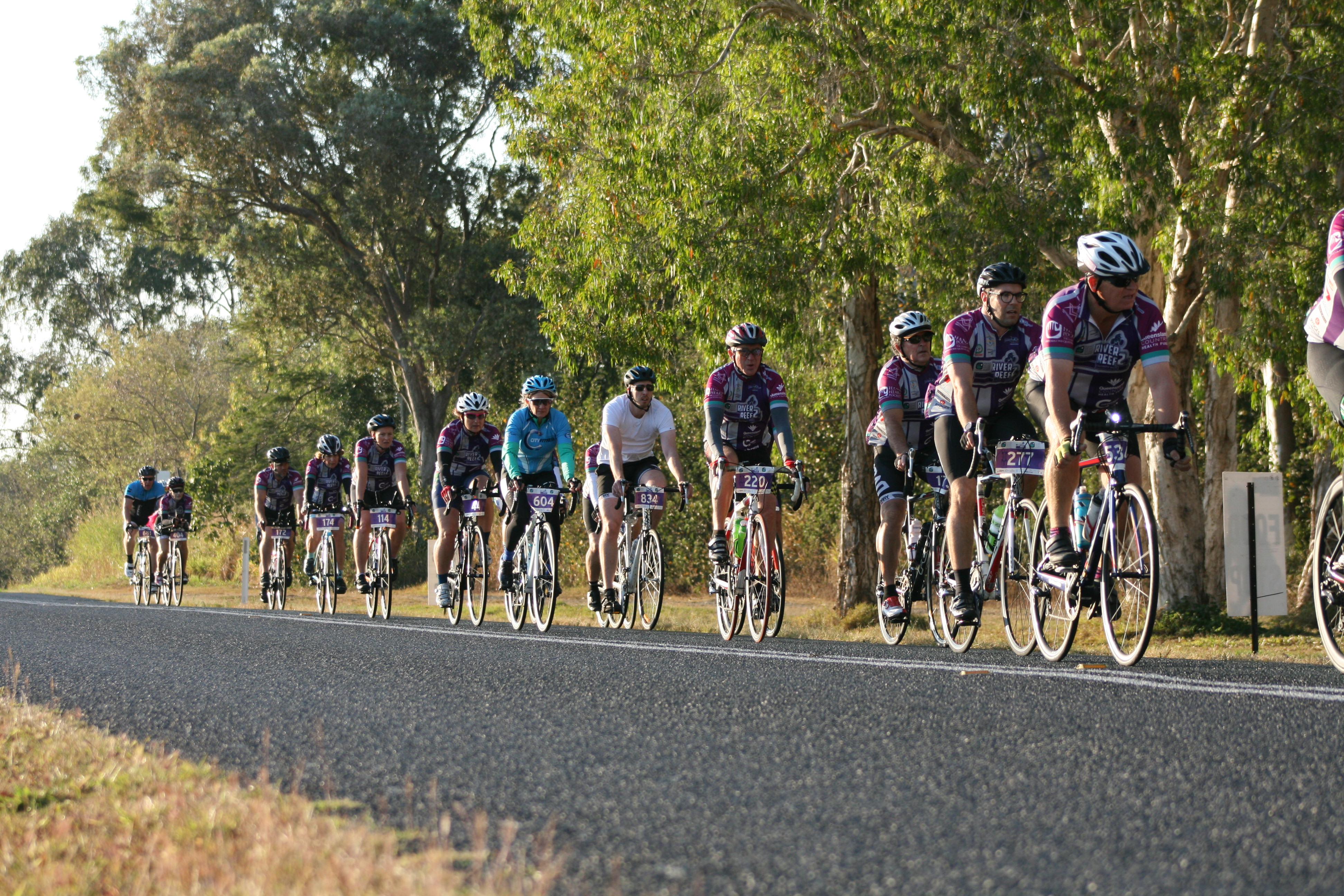 2019 Hand Heart Pocket River 2 Reef Charity Ride