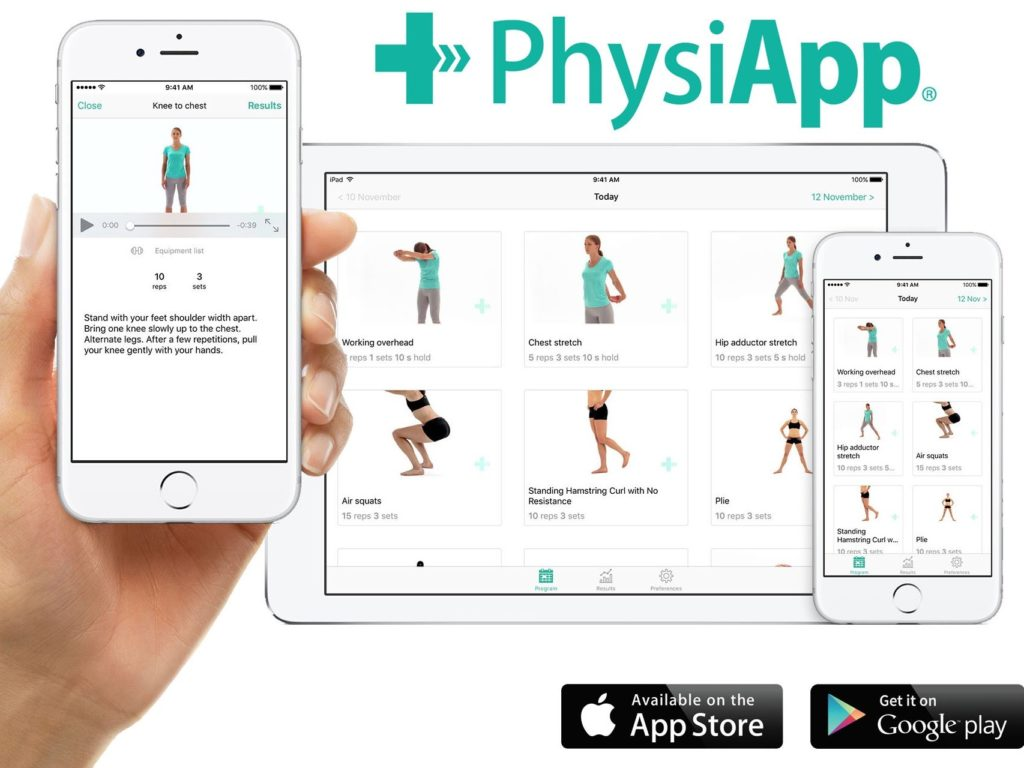 Picture of the PhysiApp